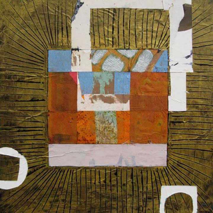 Abu Simbel IV 45x45cm