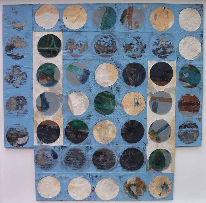Blue Icon 50x50cm