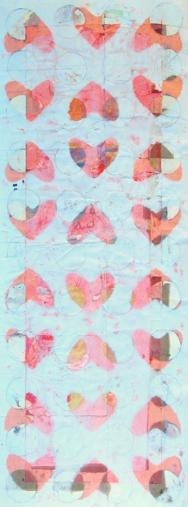 Faint Hearts 95x35cm