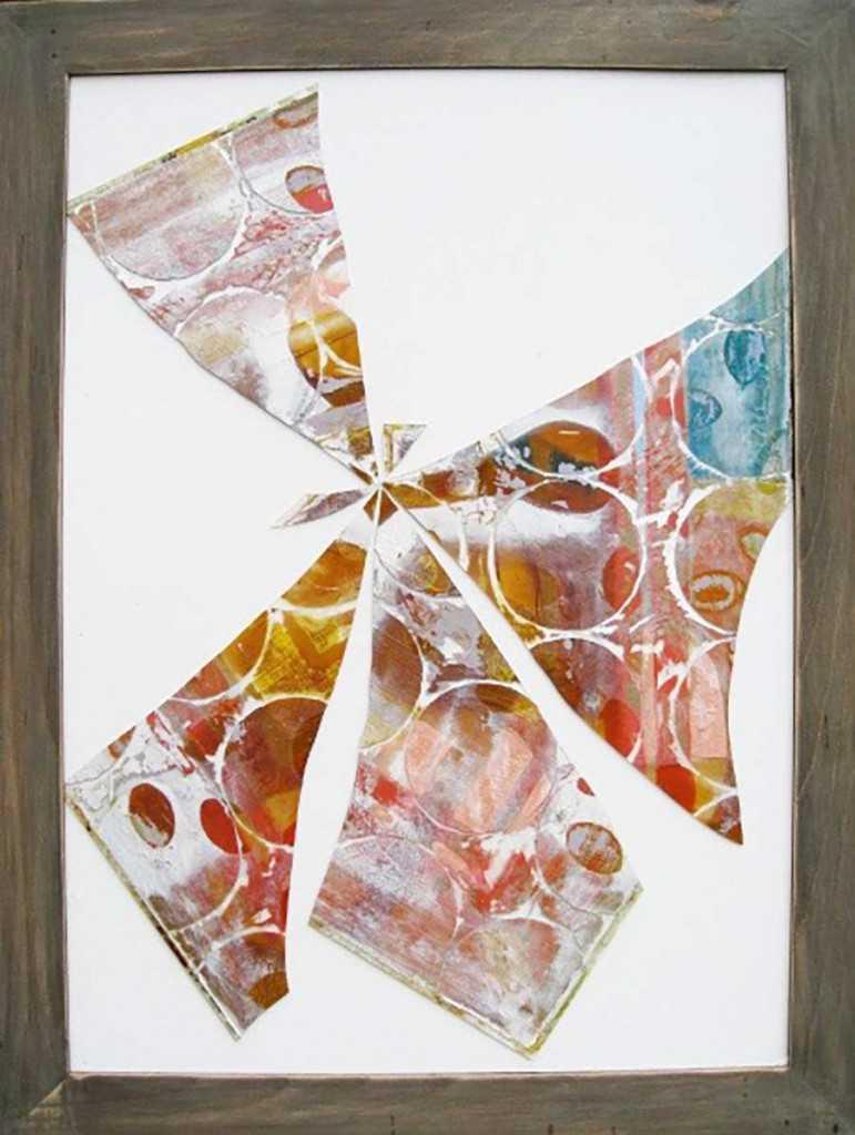 Glass Flower II 95x71cm