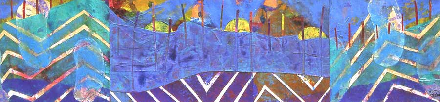 Ploughed Fields 14x55cm