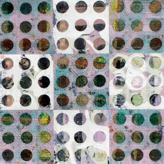 Square Eyes II 80x80cm