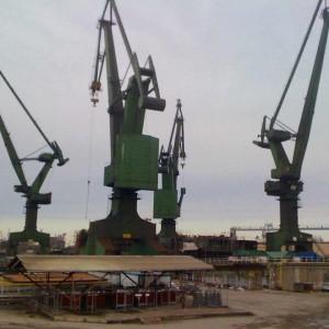 Shipyard Cranes ii