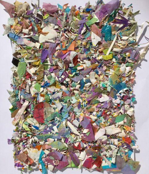 Detritus I 65x50cm