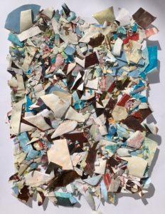 Detritus II 65x50cm